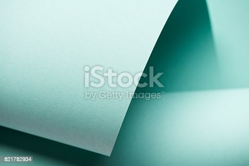 istock Pastel blue-green color 821782934