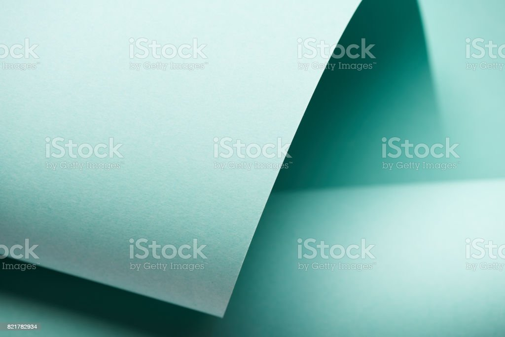 Pastel blue-green color stock photo