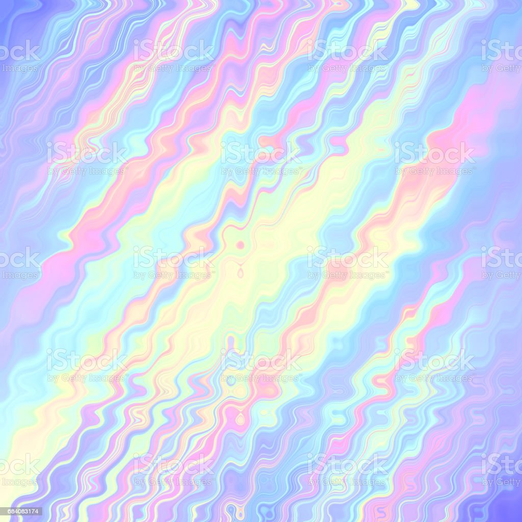Pastel Color Abstract Motion Art Background Stock Photo