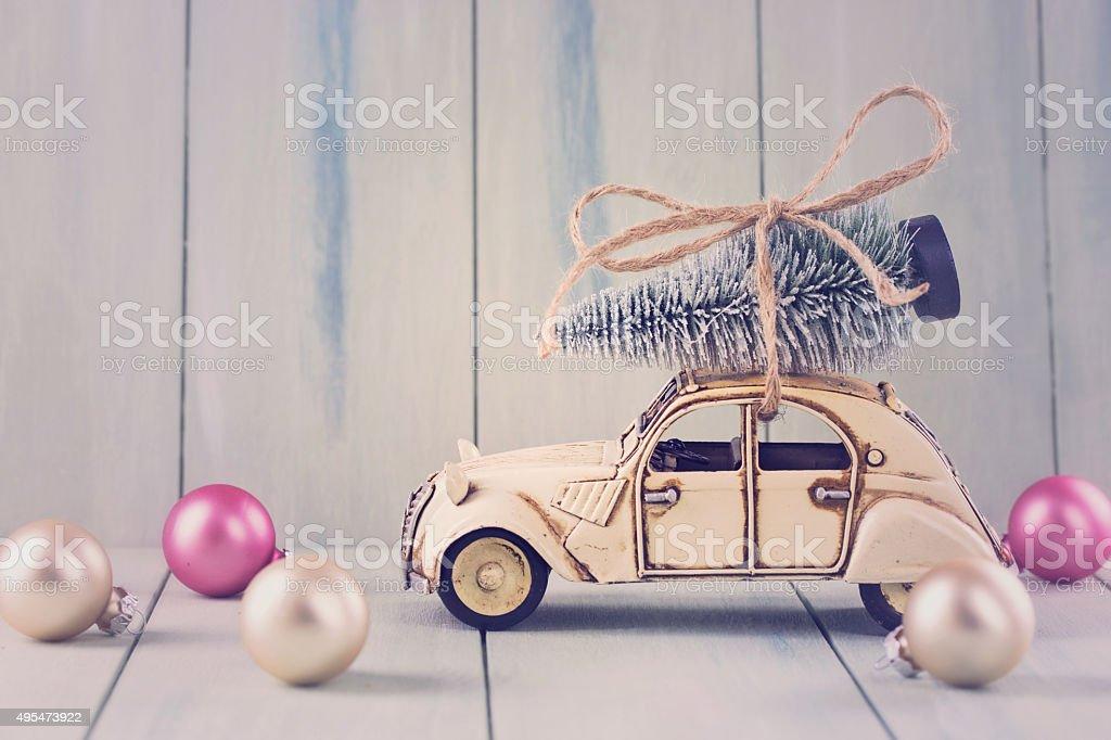 Pastel colored decoration stock photo