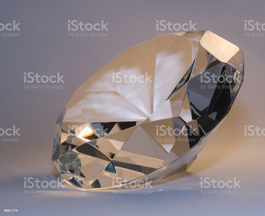 pastel colored diamond royalty-free stock photo