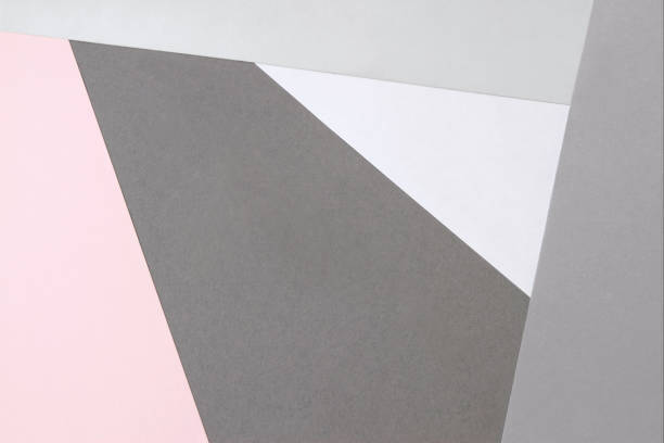 パステル カラー紙の背景 ストックフォト