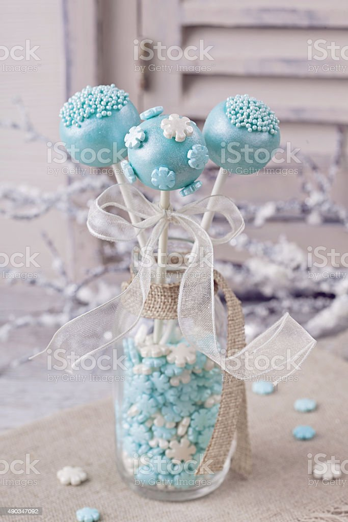 Pastel colored sweets stock photo