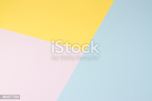 511118930 istock photo Pastel Coloured Paper Background 854577264