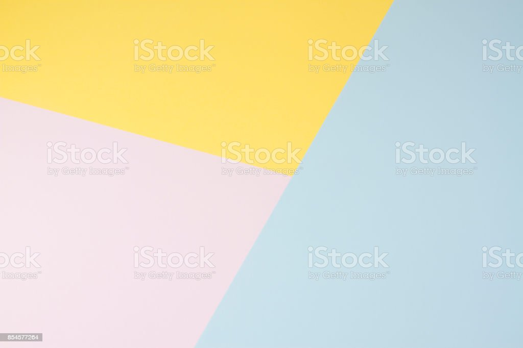 Pastel Coloured Paper Background stock photo