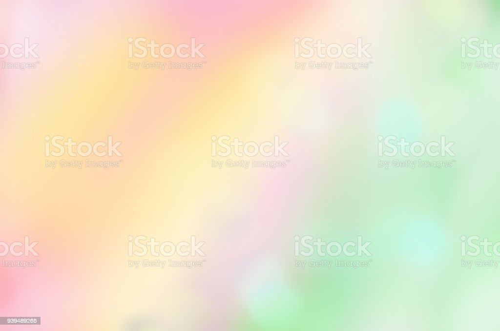 Sun blur and light pastel colored. Soft light abstract background....