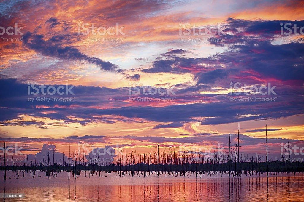 Pastel Dusk stock photo