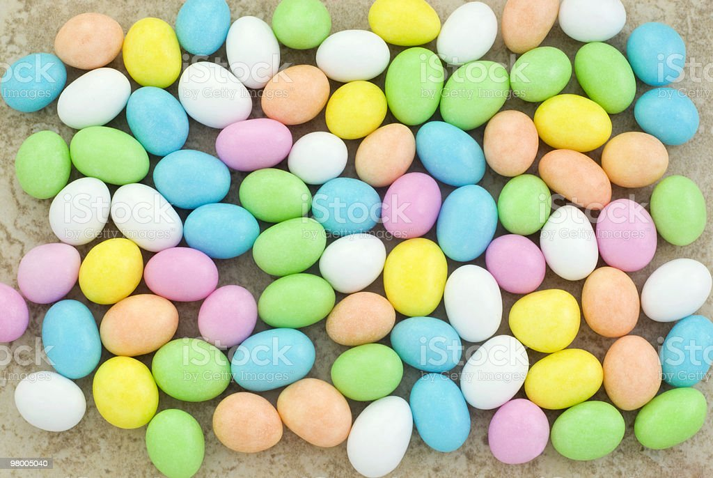 Pastel Easter Candy Background royalty-free stock photo