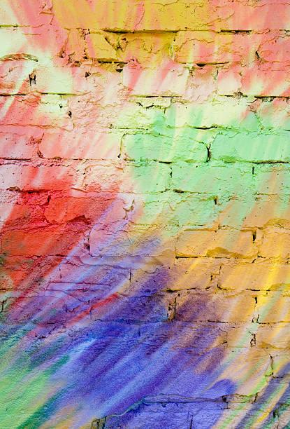 pastellfarbene graffiti hintergrund (xl - spaß sprüche stock-fotos und bilder