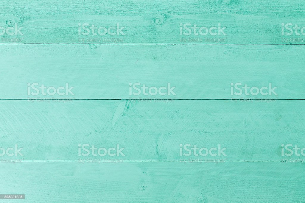 Pastel green stained wood background texture - foto de stock