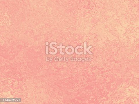 Pastel Millennial Pink Pale Yellow Coral Grunge Background Ombre Peachy Texture Copy Space