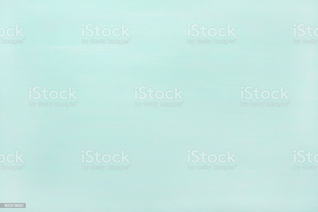 Pastel mint color painted wooden texture, wallpaper, background stock photo