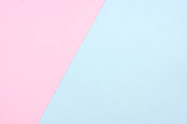pastel pink and blue, angular, abstract background - pastel colored stock pictures, royalty-free photos & images