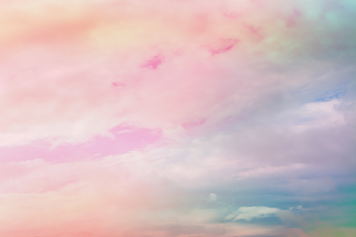 pastel pink and blue color sky wallpaper background picture