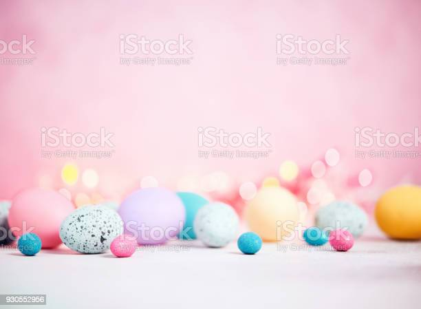Pastel pink background with pastel eggs for easter picture id930552956?b=1&k=6&m=930552956&s=612x612&h=cao8zubstvdxz4zq4xy5b9wbb9kg8jtoe12flajtldw=