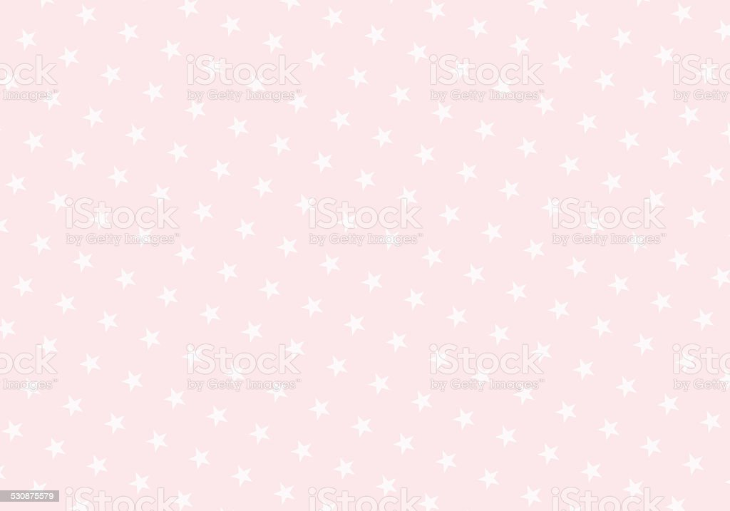 Pastel Pink Stars on Light Pink Background stock photo