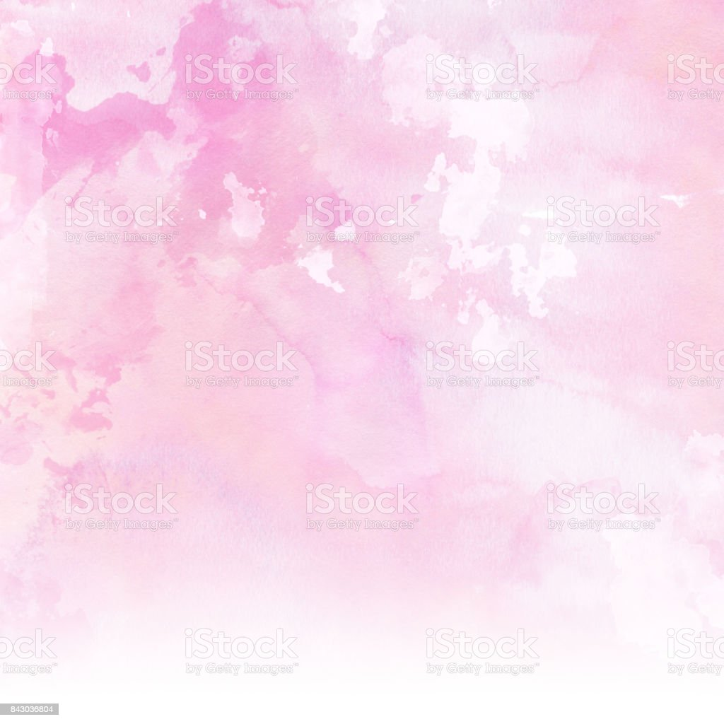 pastel pink watercolour background stock photo amp more
