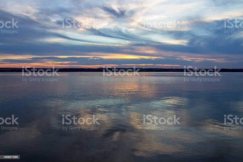 Pastel Reflections stock photo