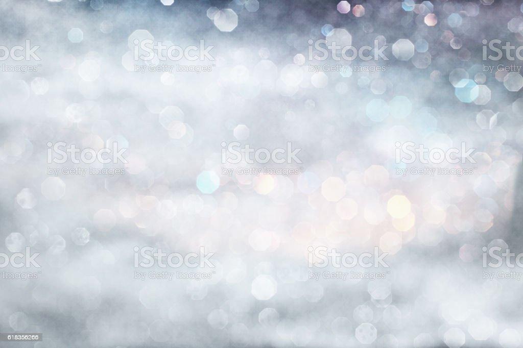 Pastel silver winter stock photo