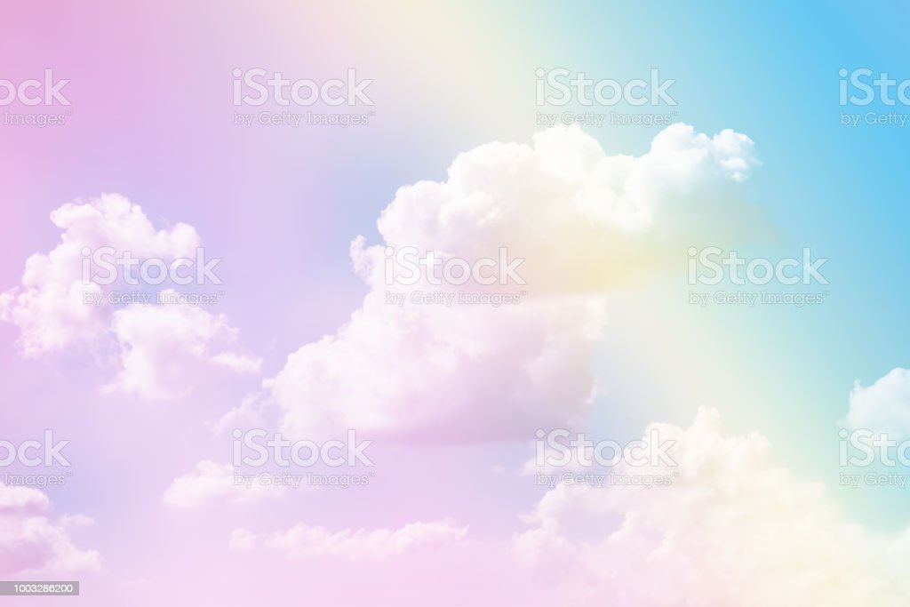 Pastel Sky Texture Stock Photo - Download Image Now