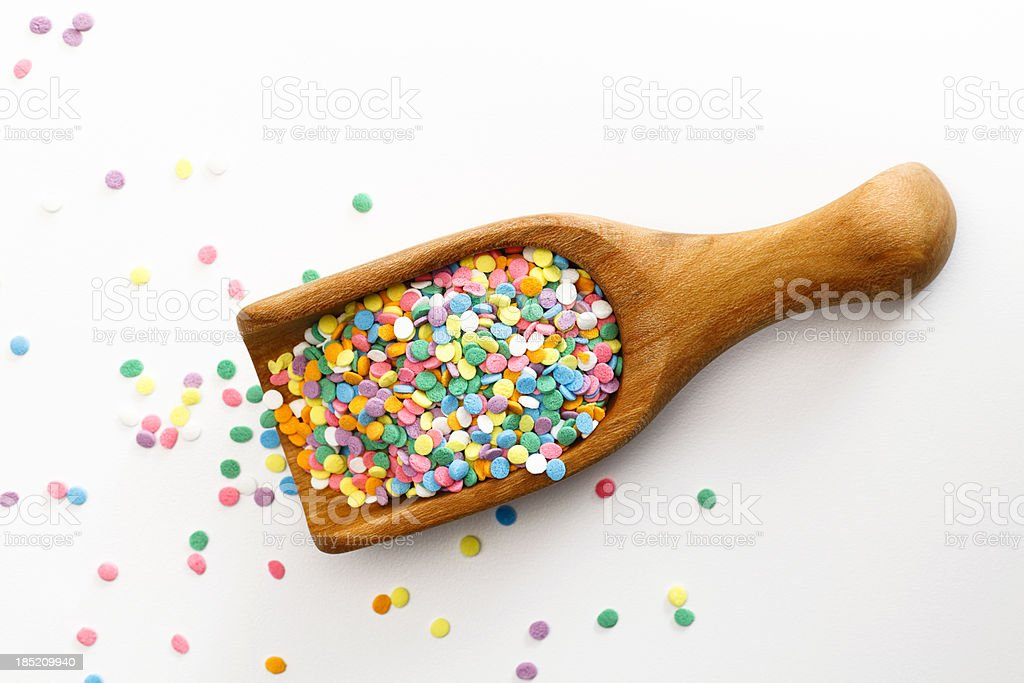 Pastel Sprinkles stock photo