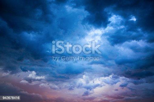516351793 istock photo Pastel Stormy Supercell 942678416
