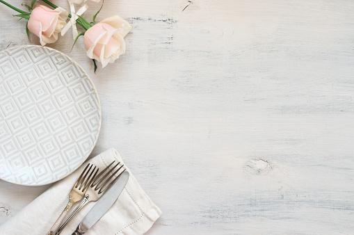 Pastel tableware set