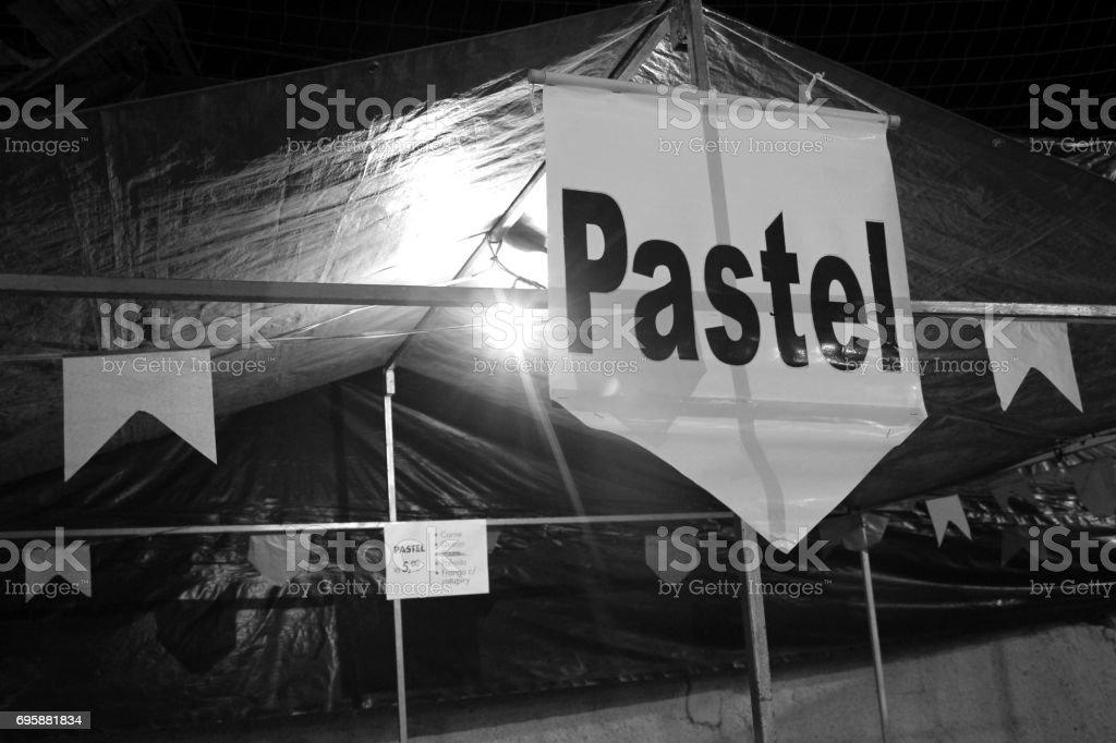 Barraca de pastel - foto de acervo