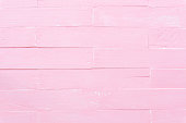 istock Pastel white and pink wooden table background texture. 1014843848