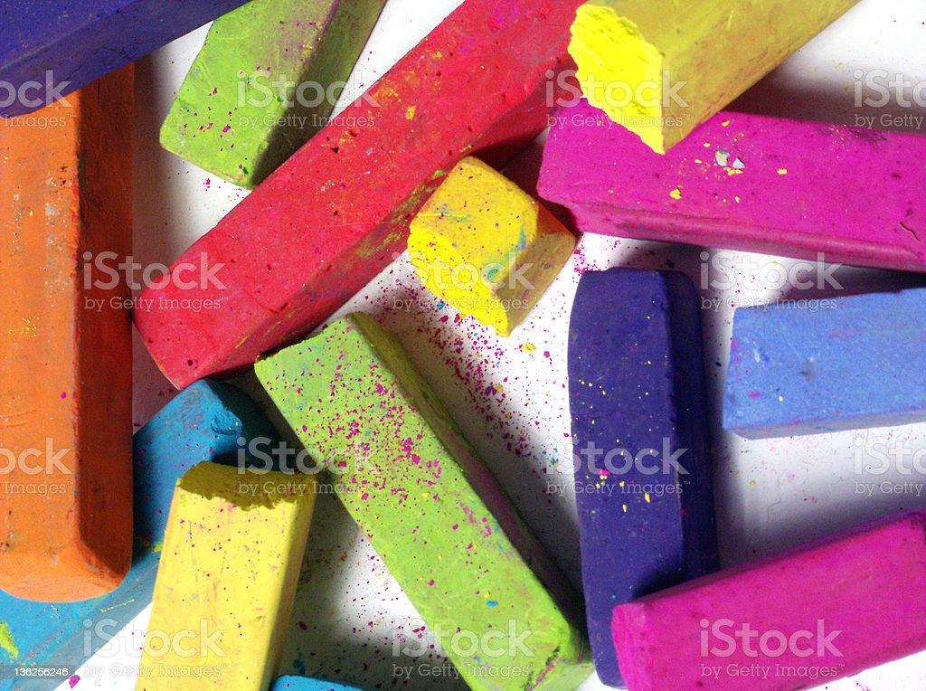 pastels stock photo