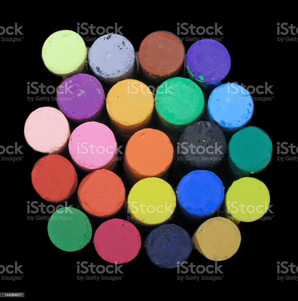 pastels royalty-free stock photo