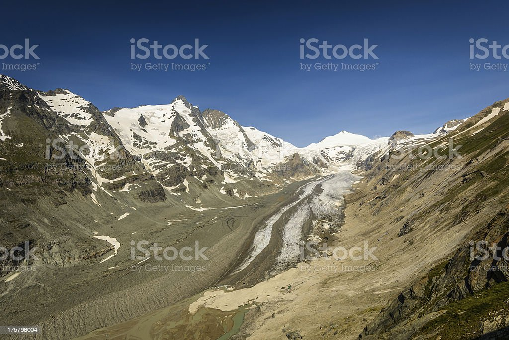 Pasterze glacier royalty-free stock photo