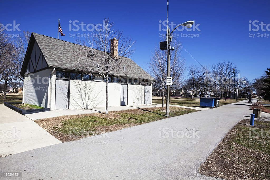 Pasteur Park, Chicago Southwest Side royalty-free stock photo