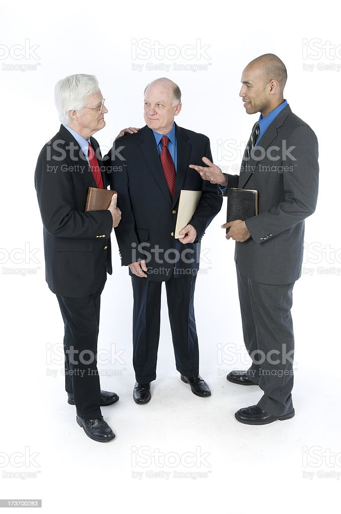 Pastoral Discussion royalty-free stock photo