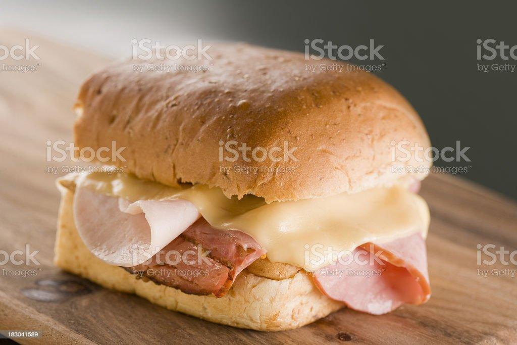 Pastrami sándwich - foto de stock