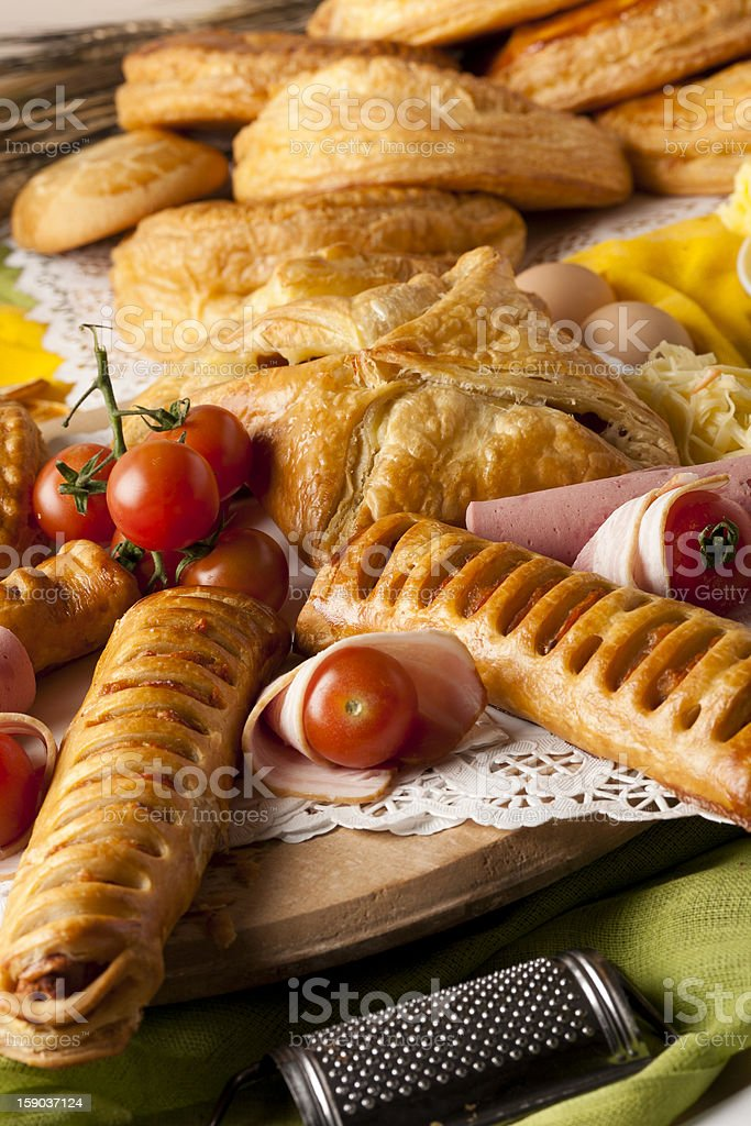 Pastries royalty-free stock photo