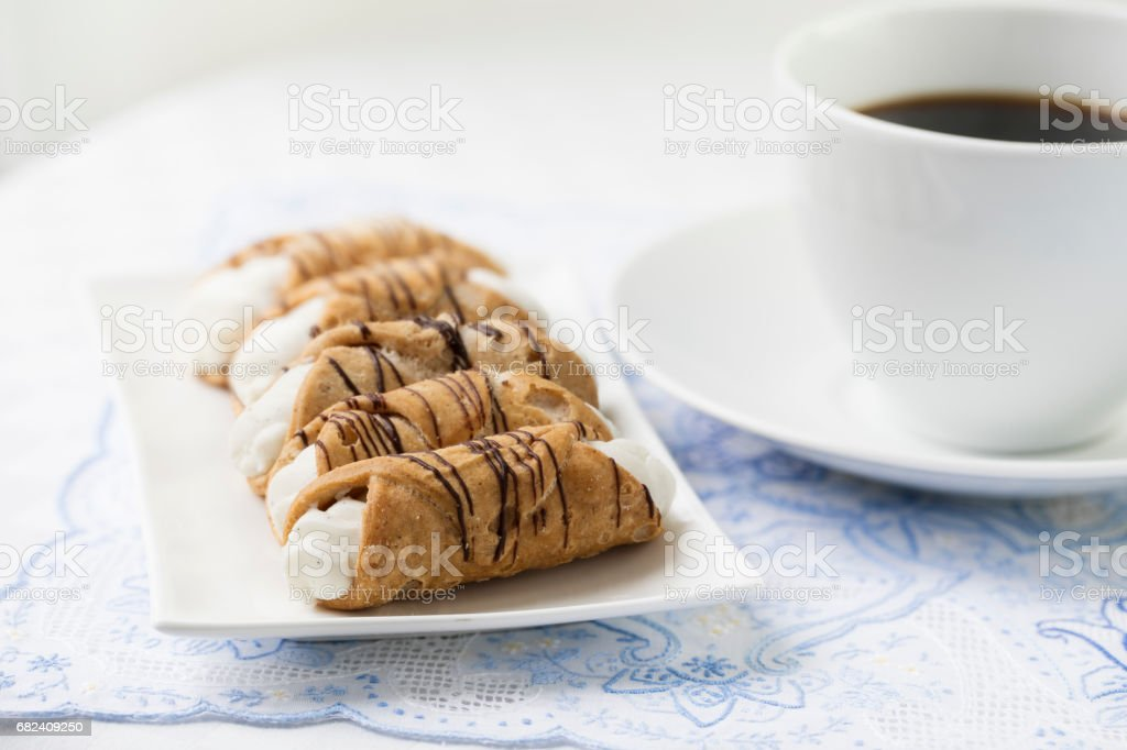 Pastry and Coffee Break 免版稅 stock photo