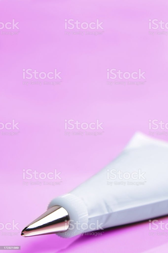 Pastry Bag - Vertical royalty-free stock photo