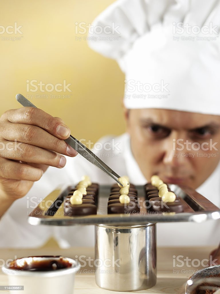 Pastry Chef royalty-free stock photo