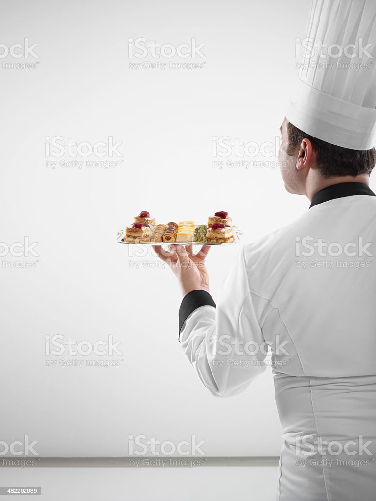 Pastry Chef stock photo