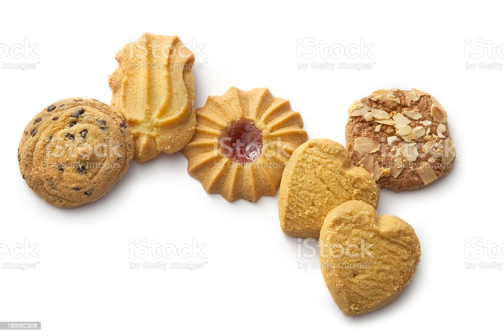 Pastry: Cookie Collection royalty-free stock photo