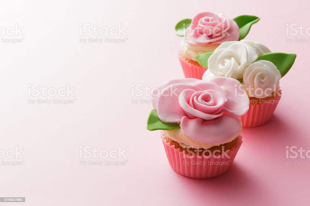 Pastry: Cupcakes Still Life stock photo