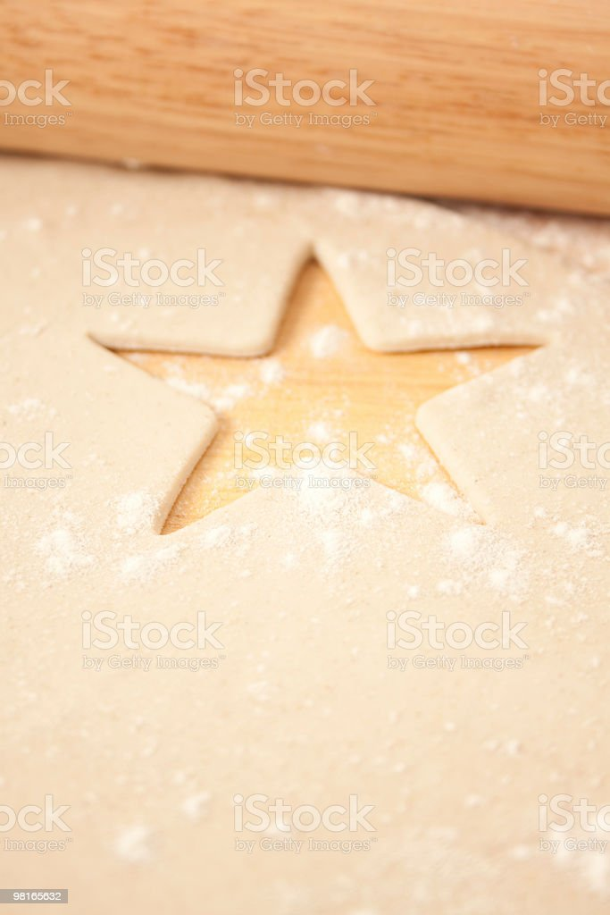 Pastry Star royalty-free stock photo