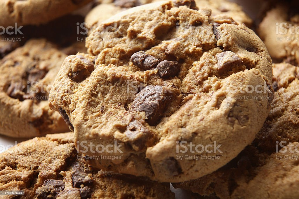 Pastry Stills: Chocolate Chip Cookie royalty-free stock photo