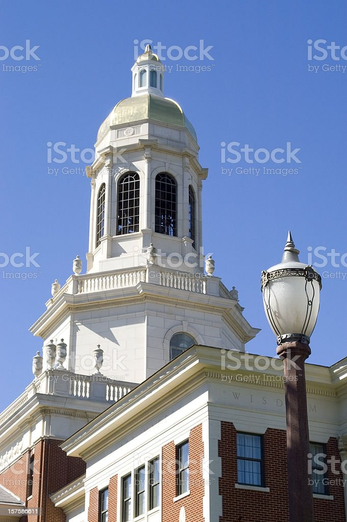 Pat Neff Bell Tower at Baylor University stock photo