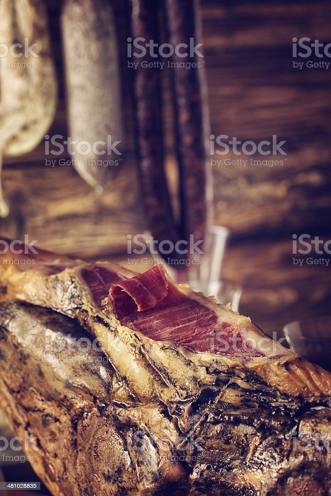 Pata Negra stock photo