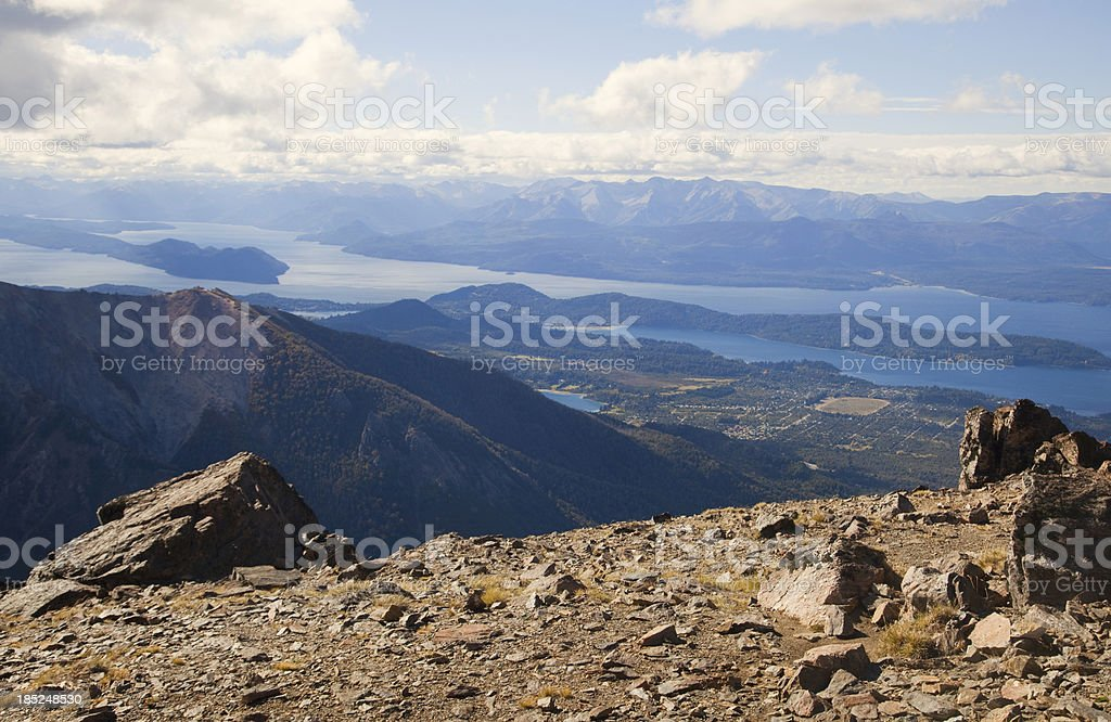 Patagonia Argentina Mountain royalty-free stock photo