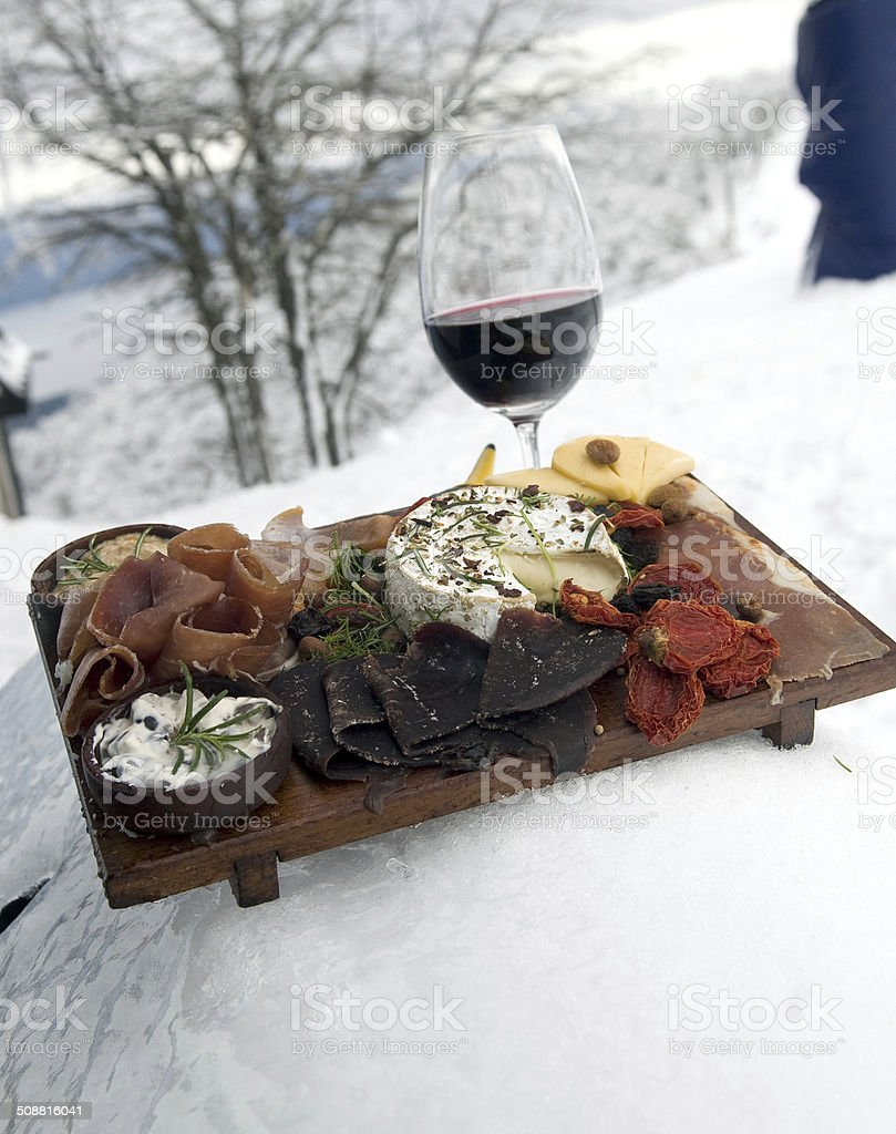 Patagonia Gourmet stock photo