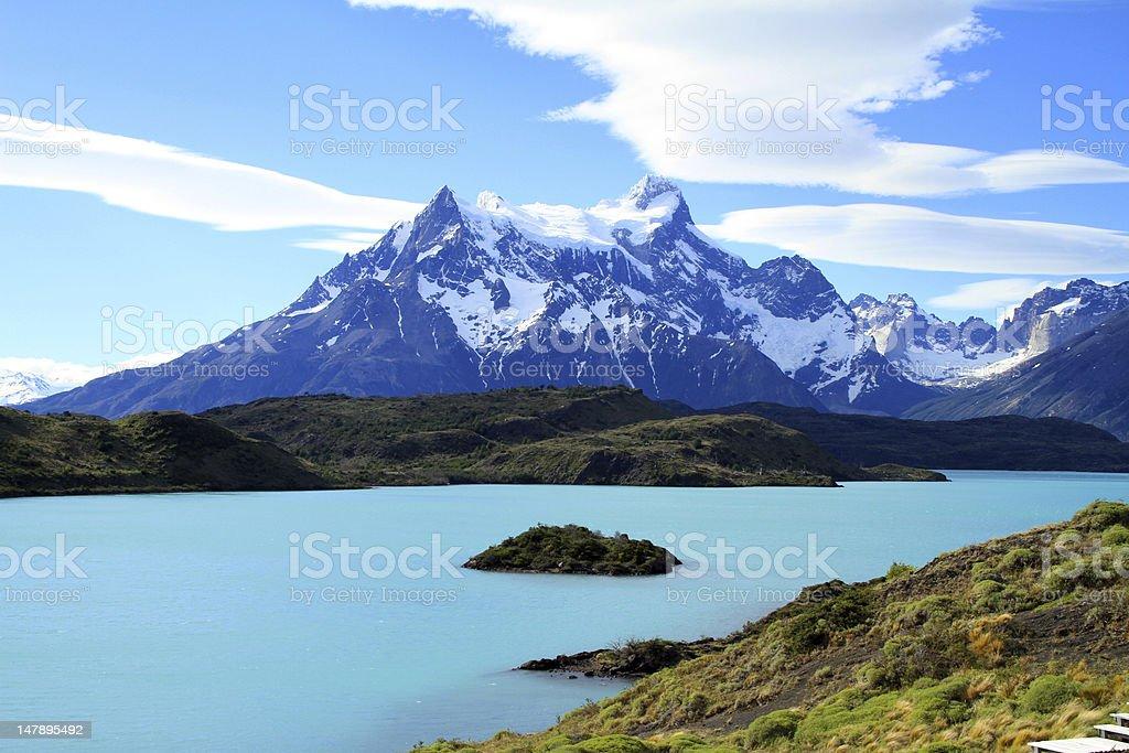 Patagonia Lake - Royalty-free Awe Stock Photo