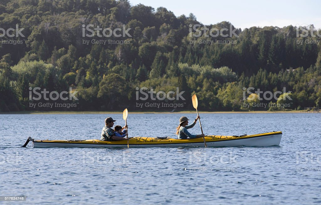 Patagonia Sea Kayak stock photo